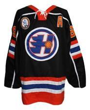 a0b632d5e178d6 Custom Name   Halifax Highlanders Goon Movie Hockey Jersey Black Glatt Any  Size