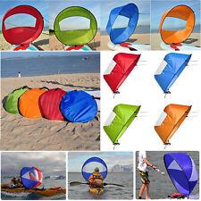 42'' Folding Kayak Boat Wind Sail Sup Paddle PVC Windpaddle Sailboat Easy Use
