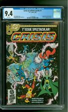Crisis on Infinite Earths 1 CGC 9.4 NM Superman Batman George Pérez cover DC