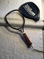 Wilson Marksman Racketball Rackett With Leather Grip and Cover
