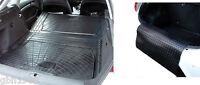 3pc modular rubber boot liner load mat bumper protector Audi A2 A3