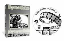 Media Centre Players Codecs Converters Decoders, Play Any Video Audio, PC CD