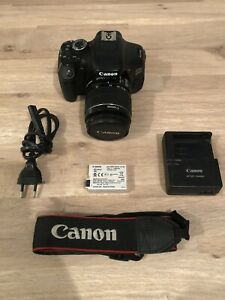 Canon EOS 600D 18.0MP Digital SLR Camera - Black (Kit w/ EF-S 18-55mm IS II...