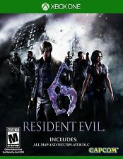 NEW Resident Evil 6 (Microsoft Xbox One, 2016)