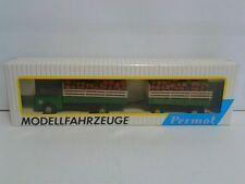 DDR GDR Permot Hruska 78133 Skoda LKW m.Lattenaufsatz u.Holzbeladung 1:87 H0 MIB
