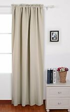 Deconovo Blackout Curtain Rod Pocket Window Curtains Thermal Insulated Drapes
