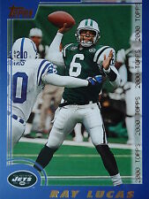 NFL 127 Ray Lucas New York Jets Topps 2000