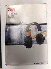 3M Peltor Tactical 6-S Slim Line Electronic Headset with Audio Input Jack Olive