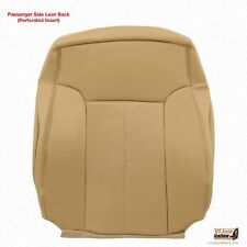 2011 2012 Ford F250 Lariat Passenger Side Lean Back Cover Perforated Leather Tan