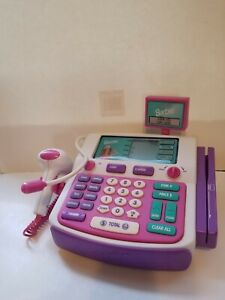 Shop With Me Barbie Talking Cash Register with Accessories Broken Microphone