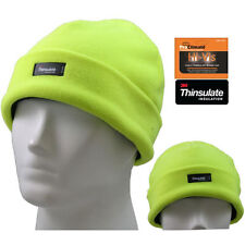 Haute Visibilité Thinsulate polaire Beenie Ski Hat (Fast Post 1st classe)