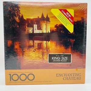 Springbok Enchanting Chateau King Size 1000 Piece Puzzle Factory Sealed New!