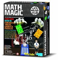 Math Magic Fun Maths Tricks Games And Puzzles For Kids Mathematics 4M 4159