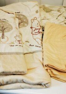 Winnie The Pooh Neutral Cot Bedding set