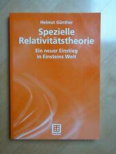 Lehrbuch Spezielle Relativitätstheorie von Helmut Günther Albert Einstein Physik