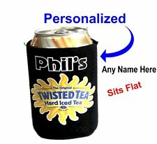 "Twisted Tea ""Hard Tea"" 12oz Neoprene Can Coolie - Personalized for Free"