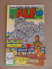 Alf (TV) annual 1 .  Rocky & Bullwiinkle App . - Marvel 1988 -  VF / NM