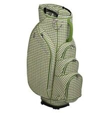 Ouul 14 Way Ladies Golf Cart Bag - with Matching Rain Hood White/Olive