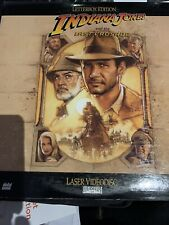 INDIANA JONES AND THE LAST CRUSADE Harrison Ford LASERDISC 2 Extended Discs