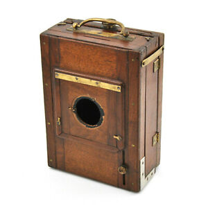 RARE 13x18cm Compact Large Format Wooden Camera! AS IS!