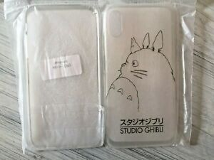 Miyazaki Totoro Anime Ghibli iPhone 10 Case Cover Skin Cell Phone Accessory