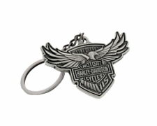 HARLEY DAVIDSON 115TH ANNIVERSARY SCULPTED MEDALLION KEYCHAIN  KEY CHAIN FOB