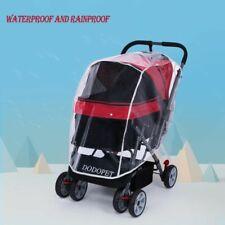 Pet Cart Stroller Dog Cat Transparent Rain Cover Carrier Push Chair Outdoor