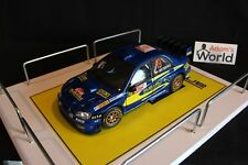 QSP Diorama 1:18 Prodrive Subaru World Rally Team Service