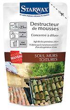 STARWAX DESTRUCTEUR DE MOUSSES CONCENTRE 250 ML pour 25 m2 ref 1156