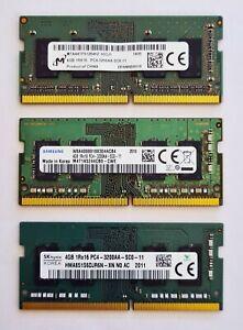 4GB DDR4 3200MHz PC4-25600 3200AA SODIMM Laptop RAM Memory - Samsung Hynix