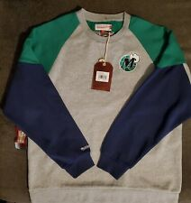 Mitchell & Ness Dallas Mavericks Throwback Vintage Sweater Mens Size XL