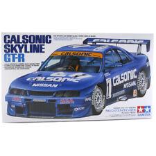 Tamiya Nissan Skyline GT-R R33 Calsonic Race Car Model Kit - Scale 1:24 - 24184