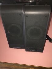 ALTEC LANSING POWERED AUDIO SYSTEM SPEAKERS VS2220, TESTED WORKS GREAT