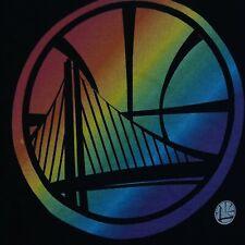 Golden State Warriors Team Pride Black V-Neck T-Shirt Fanatics Branded Women 2XL