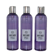 THE BODY SHOP White Musk Duschgel 3x 250ml Shower Gel