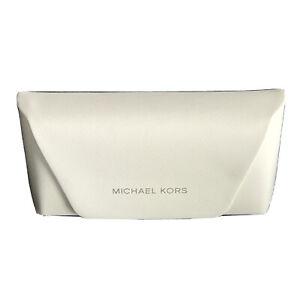 Michael Kors Eyeglasses Sunglasses Authentic Optical White Case Only