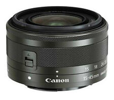 New Canon EF-M 15-45mm F/3.5-6.3 IS STM Black Lens Bulk for EOS M/M2/M3/M10