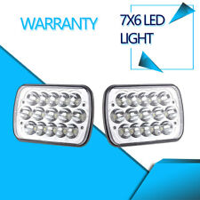 """SUV LED Headlight 7x6"""" Seale log for Ford Chevy Express Cargo Van 1500 2500 3500"""