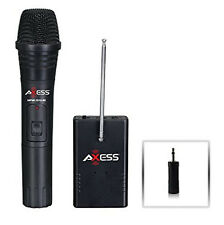 AXESS Handheld Wireless Microphone MPWL1512-BK