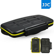 JJC Water-resistant Hard Storage Memory Card Case For 4 SD Cards & 1 SXS Card