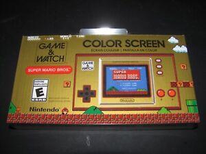 1x Nintendo Game & and Watch: Super Mario Bros. 35th Anniversary Handheld