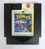 Rare Trolls on Treasure Island (Nintendo) NES Video Game