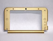 OEM Gold Zelda Nintendo 3DS XL Replacement Hinge Middle Shell Housing Top Screen