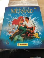 1990 Disney Little Mermaid Panini Sticker Album Complete With All Stickers