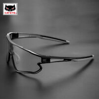CATEYE Bike Photochromic Cycling Glasses 100% UV400 Sunglasses Goggles Eyewear