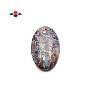 Purple Sea Sediment Jasper Cabochon Pendant Oval Shape 30x50mm Sold By Piece
