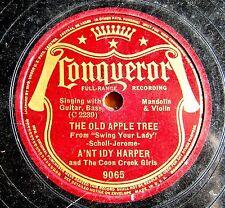 PREWAR COUNTRY  78: A'NT IDY HARPER & COON CREEK GIRLS: Old Apple Tree/Lulu Wall