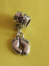 New European Charm Silver Baby Feet. Buy 1,19 more ship free! buy 5 Get 1 Free