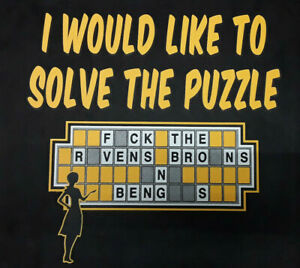Pittsburgh Steelers-Solve The Puzzle-T-Shirt/Nice!
