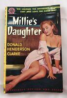 MILLIE'S DAUGHTER by Clarke Avon #351 crime mob sleaze  pulp vintage PB Vintage